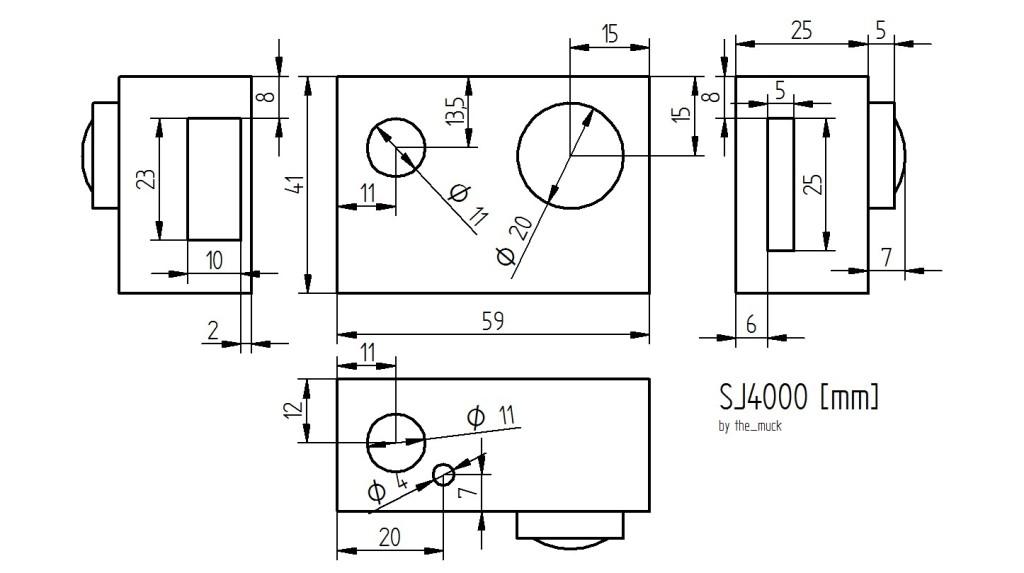 dimensions SJ4000